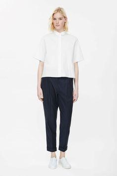 COS | Boxy cotton shirt