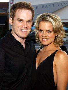 Michael C. Hall and Amy Spanger