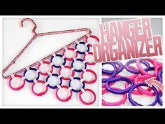 Coisas que Gosto: DIY Hanger Wardrobe Organizer! - Do It, Gurl