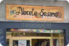 Ábrete Sésamo: tienda de trueque en Madrid