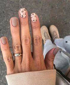 Cute Short Nails, Short Nails Art, Cute Nails, Pretty Nails, Nail Patterns, Pattern Nails, Leopard Nails, Leopard Nail Designs, Tribal Nails