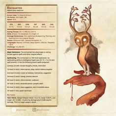 Homebrewing monsters DnD: Roll for Initiative! Dnd Dragons, Dungeons And Dragons Game, Dungeons And Dragons Homebrew, Mythical Creatures Art, Mythological Creatures, Magical Creatures, Dnd Characters, Fantasy Characters, Dnd Stats