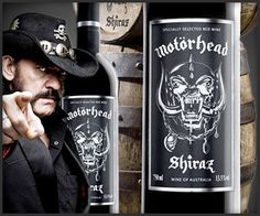 THATS RIGHT... MOTORHEAD WINE! You want to drink like Lemmy?!!?