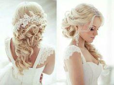 Cute hair style for long hair!