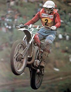 Guennady Moiseev cam. del mundo 250cc.1974 con CZ - 1977-78 con KTM