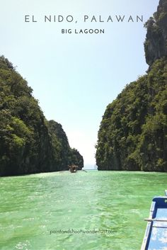 Inside the famous Big Lagoon of El Nido, Palawan Palawan Philippines Islands, Philippines Travel Guide, Philippines Culture, Vacation Trips, Dream Vacations, El Nido Palawan, Tour Operator, Where To Go, Traveling By Yourself