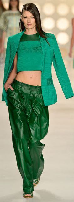 colcci summer to have these pants Green Pants, Green Shorts, Green Dress, Pink Dress, Green Fashion, High Fashion, Womens Fashion, Hunter Green, Prom Dress 2013