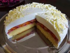 Smotanovo-ovocná torta