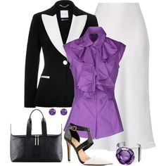 """Splash of Color"" by terry-tlc on Polyvore"