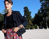Maxi Madonnas plated skirt Jellyfish, Madonna, Milan, Children, Skirts, How To Make, Inspiration, Etsy, Women