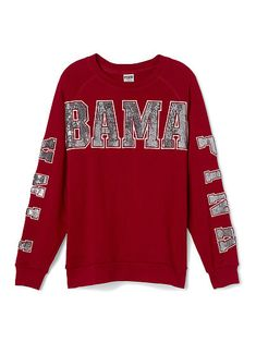 University of Alabama Limited Edition Gym Crew PINK