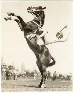 Circus Trick Rider