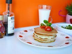 Clatite pentru micul dejun - imagine 1 mare Pancakes, Breakfast, Food, Salads, Morning Coffee, Essen, Pancake, Meals, Yemek