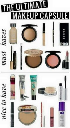 Makeup must haves.