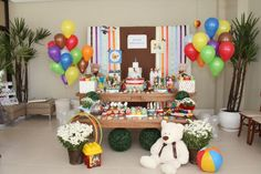 decoração simples para aniversario de menino do pinoquio em casa - Pesquisa Google