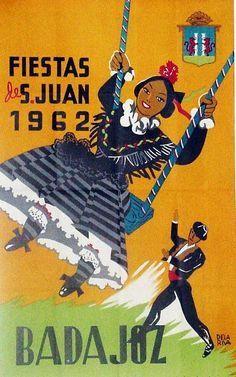 Carteles de la Feria de San Juan de Badajoz | Cultura Badajoz