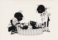 B৲( °৺° )৴K                                                           Jip en Janneke by Fiep Westendorp Dutch People, Holland, Children's Book Illustration, 4 Kids, Schmidt, Cat Art, My Childhood, Childrens Books, Book Art