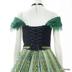 【Coronation Dress & Necklace(Frozen Anna ver)】【10/24 18:00~販売スタート】【シークレットハニー】【ディズニーコレクション】【ハロウィン】【ドレス】【アナと雪の女王】【戴冠式】【アナ】