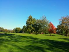 Autumn on the Golf Course. October 2015. Golf Club Udine, Fagagna - Italy