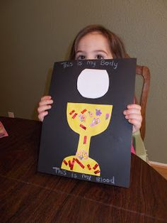 Holy Thursday crafts and activities for young children