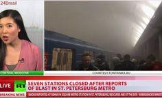 Explosões no metrô de São Petersburgo deixam feridos