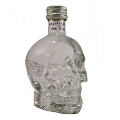 Crystal Head Miniature Vodka Skull Shape 5cl available to buy online at specialist whisky shop whiskys.co.uk Stamford bridge York