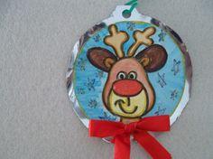 In queste giornate di festa, coinvolgiamo i bambini nella preparazione dell'Albero di Natale! Oppure per un pensierino all'amichetto o come simpatici segnaposti per la tavola! Come soggetti possiam...