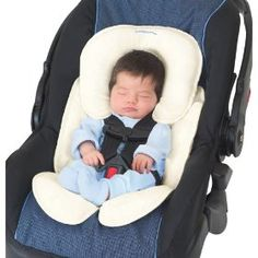 Got a little worried about this during a carseat course this week, but alas the cute snuzzler is crash tested and safe to use.