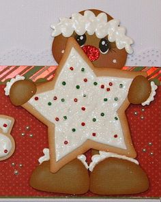 ELITE4U Pmby Julie Christmas Border for Scrapbook Pages Album Paper Piecing | eBay
