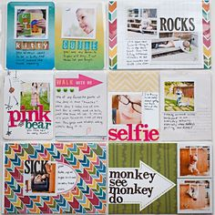 Scrap Happy Hippie: Project Life 2013 - Week 24 - right page
