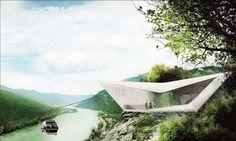 architectural visualization - Seilbahn in aggsbach - design from dominic mimlich - Austria Austria, Photo And Video, Architecture, Instagram, Design, Architecture Illustrations, Design Comics