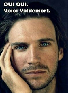 Ralph Fiennes– Hard to imagine him as Lord Voldemort when he looks like this! Ralph Fiennes– Hard to imagine him as Lord Voldemort when he looks like this!