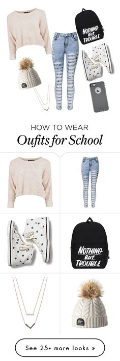 """School outfit "" by i-e-badr on Polyvore featuring Keds, OtterBox and Michael Kors"