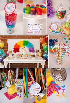 Little Big Company Blog, a beautiful  #Rainbowparty by Jo Studio