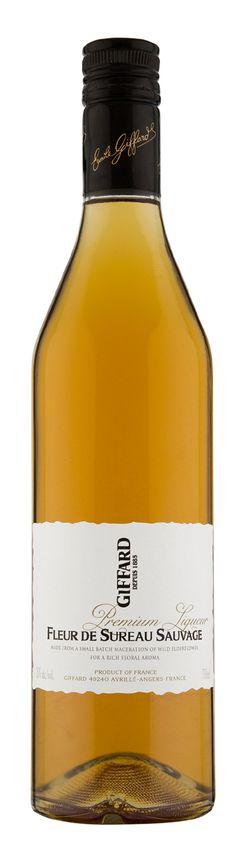 GIFFARD Premium Liqueur - Fleur de Sureau Sauvage  70 cl - 20%