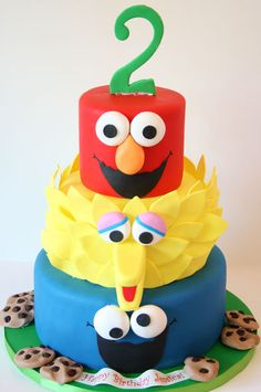 Birthday-Cakes-New-Jersey-Sesame-Street-Custom-Cakes.jpg 416×627 pixels