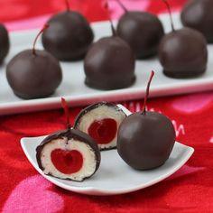 Cordial Cherry Cake Balls.