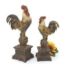 French Country Rooster to go in my French Country kitchen of course!!!