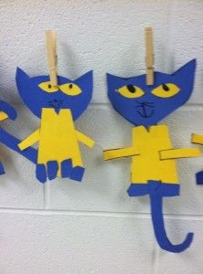 Pete the Cat craft and school tour!