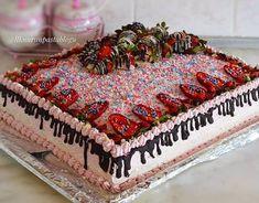 doğum günü pastası Cake, Desserts, Instagram, Food, Fresh Fruit Cake, Fruit Cake Recipes, Whipped Cream, Chocolate, Dessert Ideas