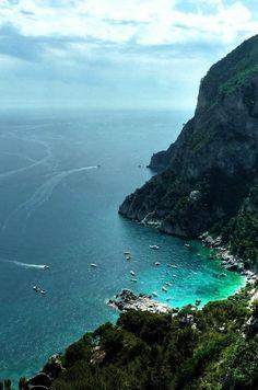 Capri seascape, Italy