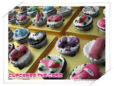 HONEY CAKES: Lightning McQueen Cupcakes