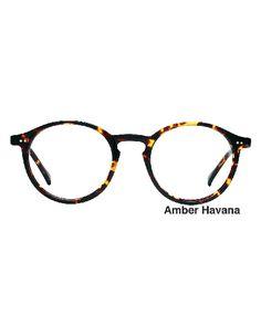 75a00b4ceb Brunswick Hand Made Semi-Round Style Eyeglasses  vintage  glasses  frames   men