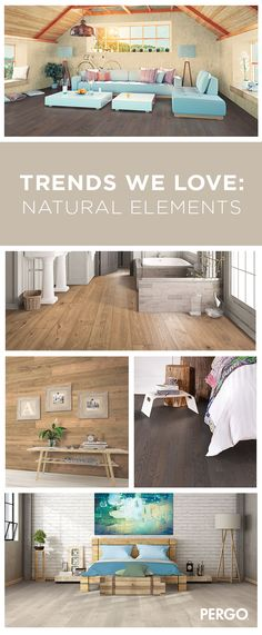 If you're going for a natural, earthy tone, then choose a floor with a lighter shade to soften the room's atmosphere.