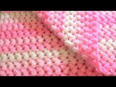 Πλεκτη κουβερτα με ζικ ζακ κουκουτσακι!!!!YouTube Crochet Videos, Diy And Crafts, Baby Blankets, Youtube, How To Knit, Crocheting, Dots, Tejidos, Bebe