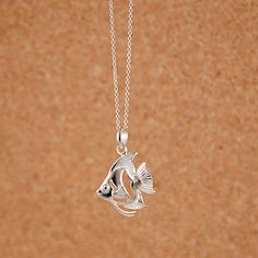 925 Solid Sterling Silver Tropical #fish Pendant   http://shophawaiianjewelry.com/collections/pendants/products/tropical-fish-pendant