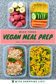 We're on Week 3 of Vegan Meal Prep January and this week features a bunch of childhood favourites! From PB & J to mac 'n cheese, the menu will evoke a bit of nostalgia without all the funky ingredients. January is flying by and we're already more than half way through the month! School is...Read More »