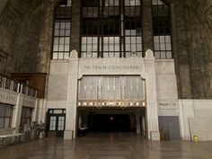 This was once one of the busiest train terminals in the north east, connecting New York City with services to Niagara Falls and Chicago.
