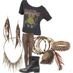 Ke$ha inspired outfit. #Kesha #Outfit