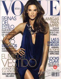 Alessandra Ambrosio for Vogue Mexico December 2010